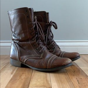 Steve Madden Brown Boots // US Size 8
